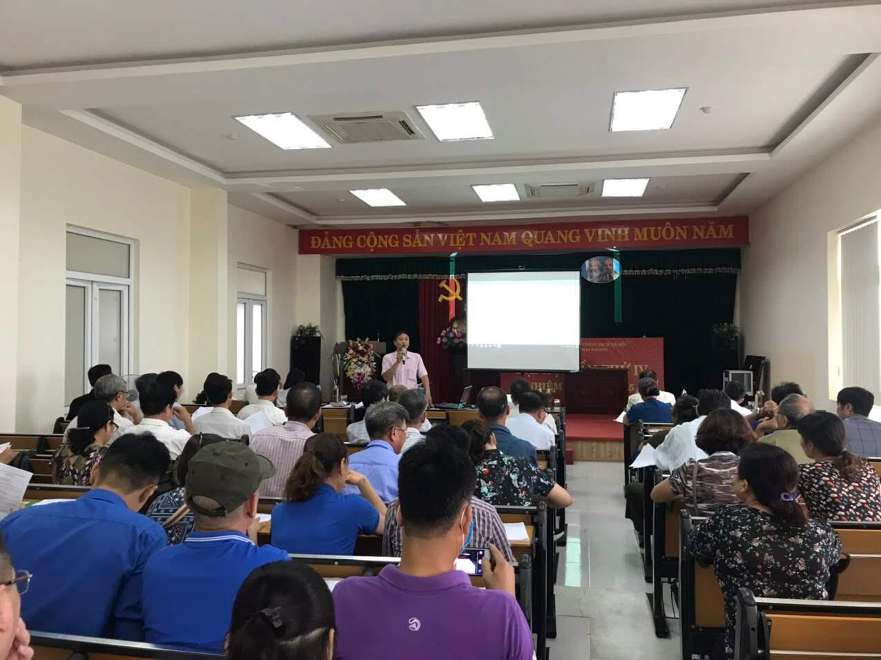 Quận Hải An: Tổ chức tập huấn nghiệp vụ ủy thác cho vay hộ nghèo và các đối tượng chính sách