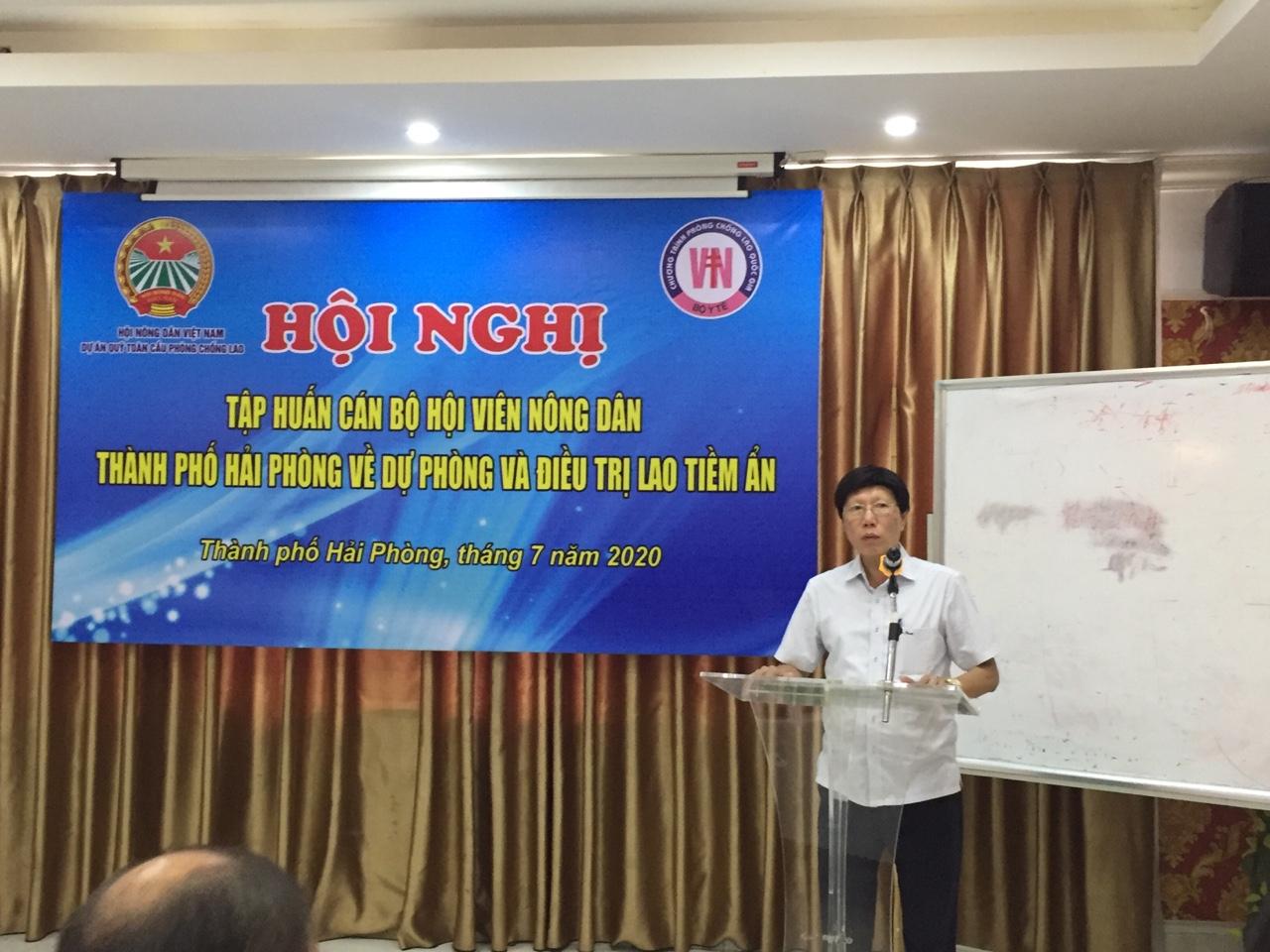 Hội Nông dân thành phố tổ chức Hội nghị tập huấn về hoạt động quản lý Lao tiền ẩn trong khu vực nông thôn