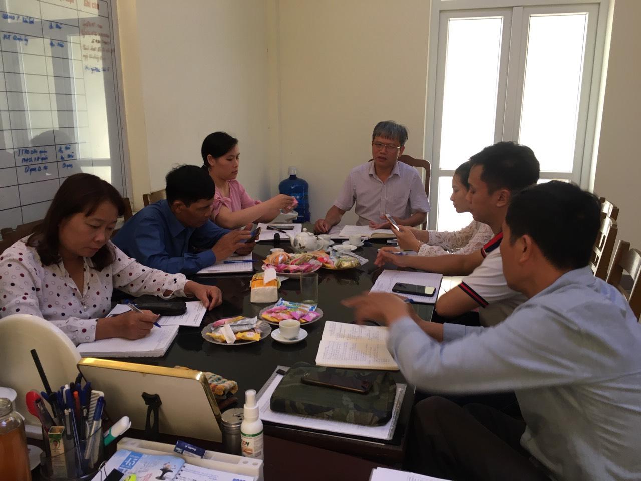 Quận Kiến An giao ban công tác Hội và phong trào nông dân tháng 12 năm 2020